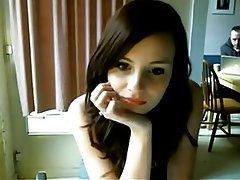 Amateur Babe Blowjob Brunette Webcam