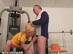 Babe Blonde Old and Young Teen