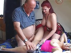 Blowjob Group Sex Old and Young