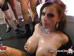 Cumshot Big Boobs Facial MILF German