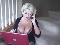 Big Boobs Blonde Cumshot MILF